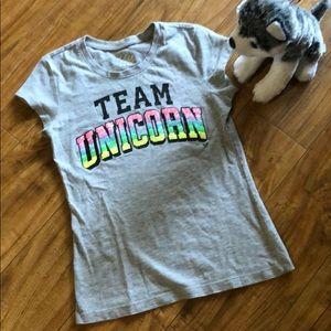 Justice team unicorn shirt